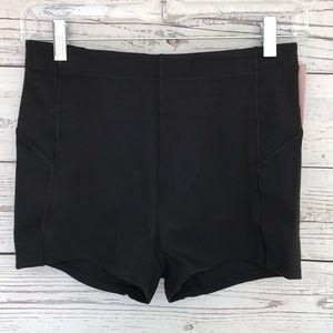 VICTORIA'S SECRET Solid Black Booty Shorts Medium
